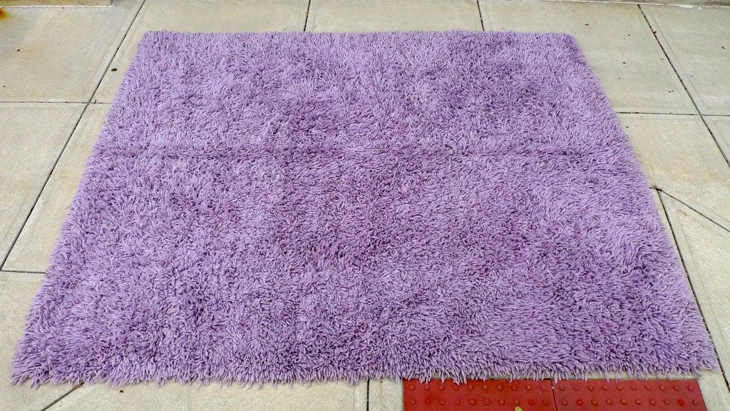 Purple Shag Rug 8' x 10' 7
