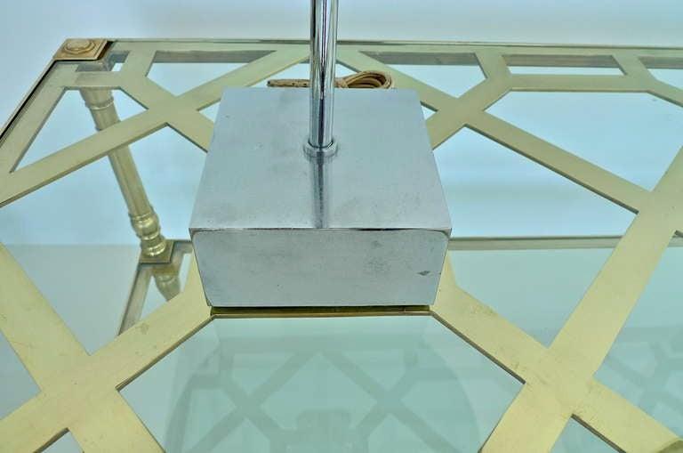 Paul Mayen Chrome Dome Table Lamp for Habitat For Sale 3