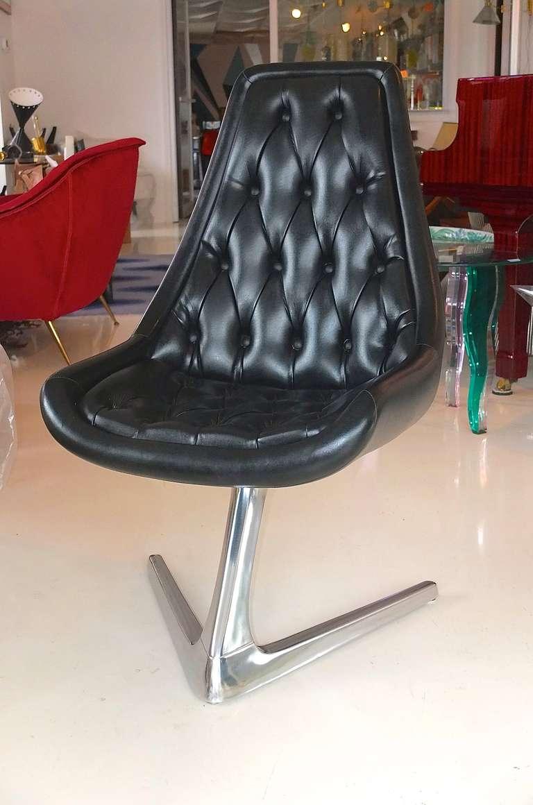 Astonishing Set Of 4 Sculpta Star Trek Swivel Chairs By Chromcraft At Machost Co Dining Chair Design Ideas Machostcouk