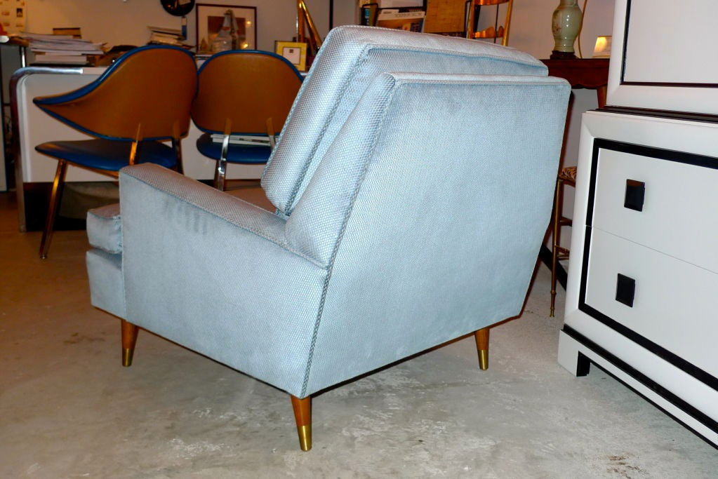 1950 S Upholstered Arm Chair At 1stdibs