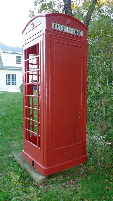 British Red Telephone Box - Model K6A 10