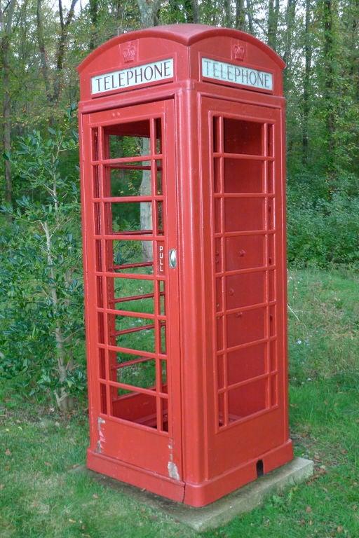 British Red Telephone Box - Model K6A 2