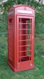 British Red Telephone Box - Model K6A image 3