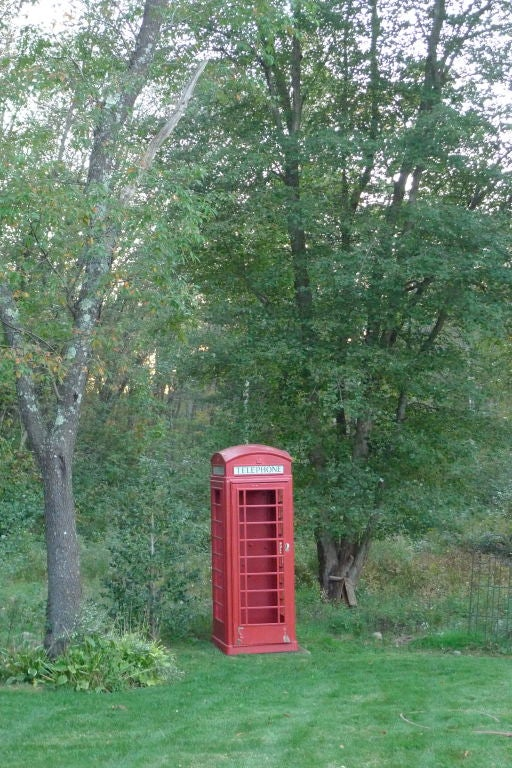 British Red Telephone Box - Model K6A 4
