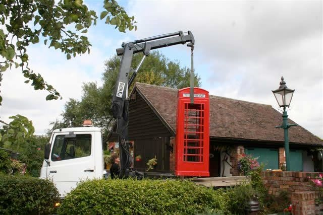 British Red Telephone Box - Model K6A 8