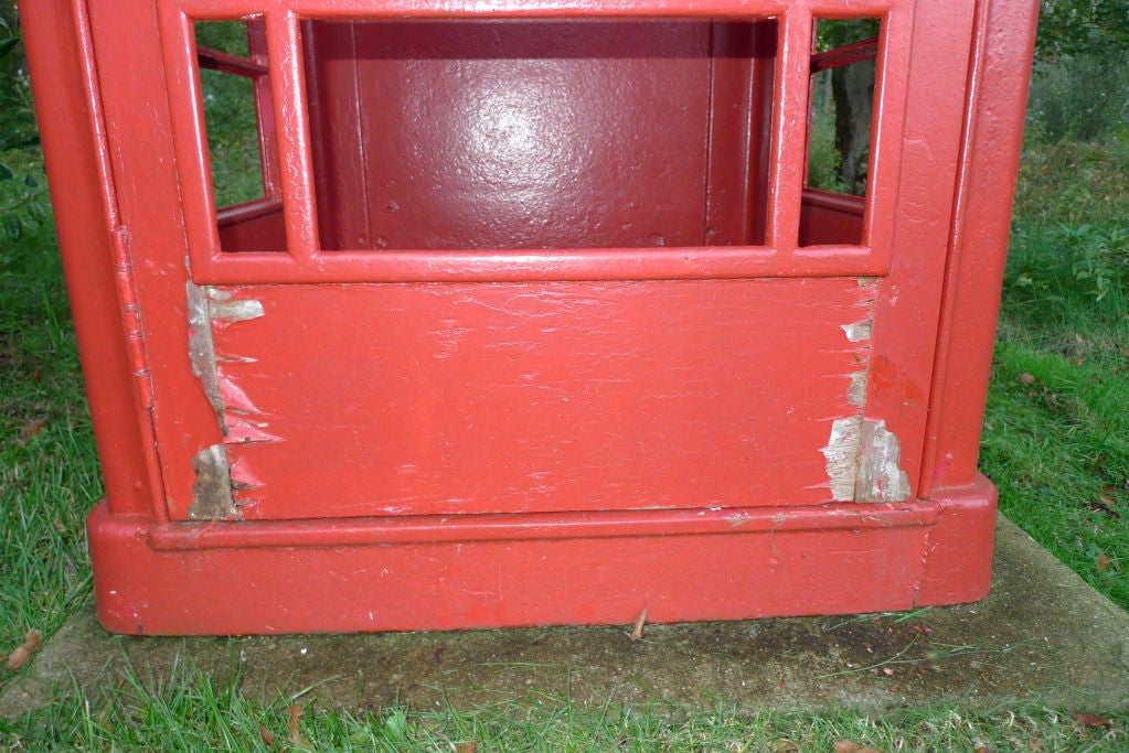 British Red Telephone Box - Model K6A 9