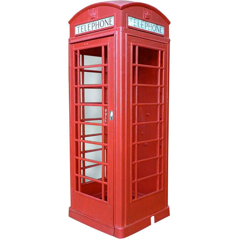 British Red Telephone Box - Model K6A