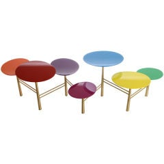 'Smarties' Pebble Table By Nada Debs