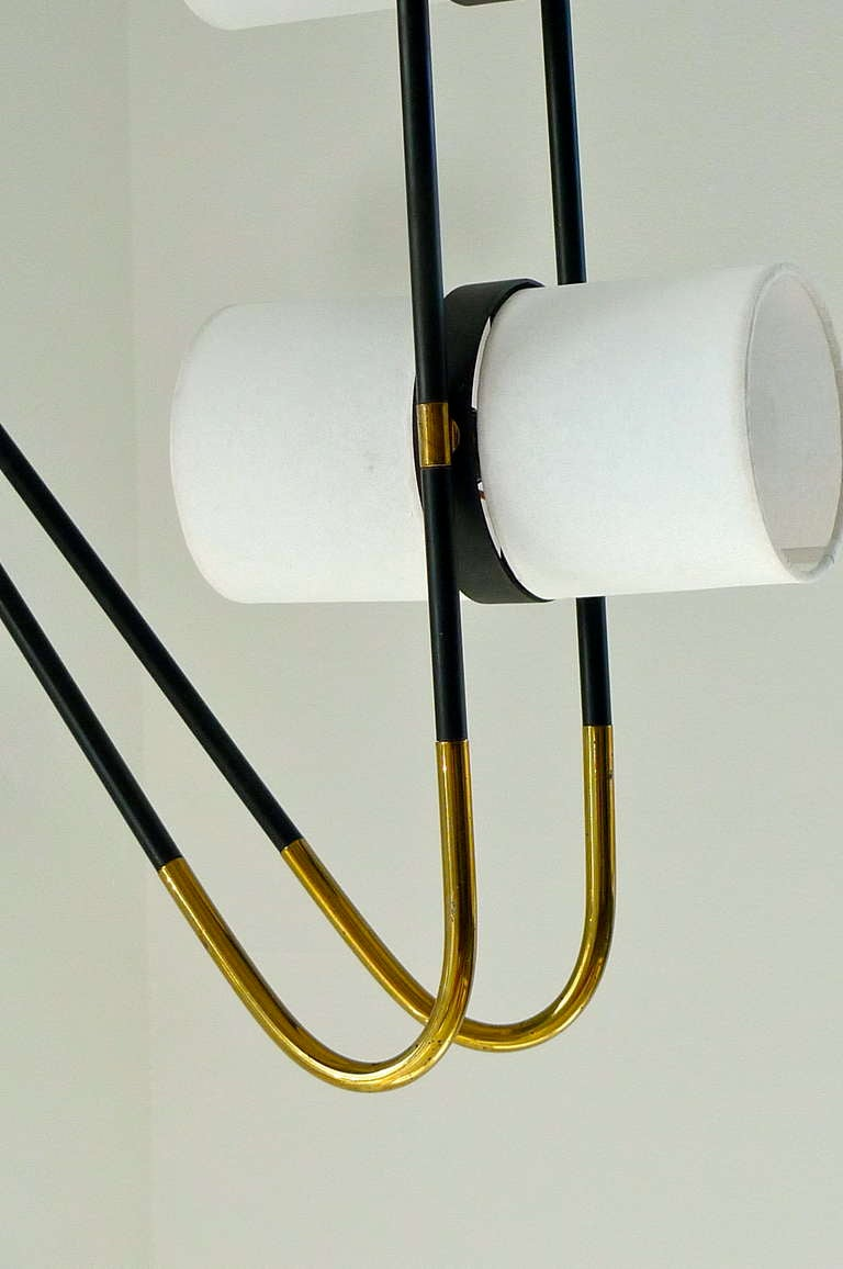 French 1950's Wall or Ceiling Lamp by Royal Lumiere for Lunel For Sale 3