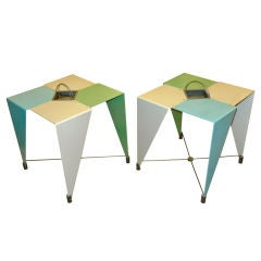 Pair of Harlequin Tables