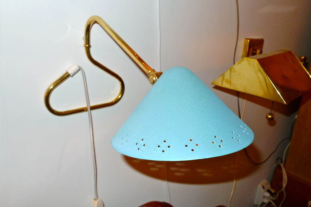 Wall Desk Lamps : Swedish 1950 s Table or Wall Mounted Lamp For Sale at 1stdibs