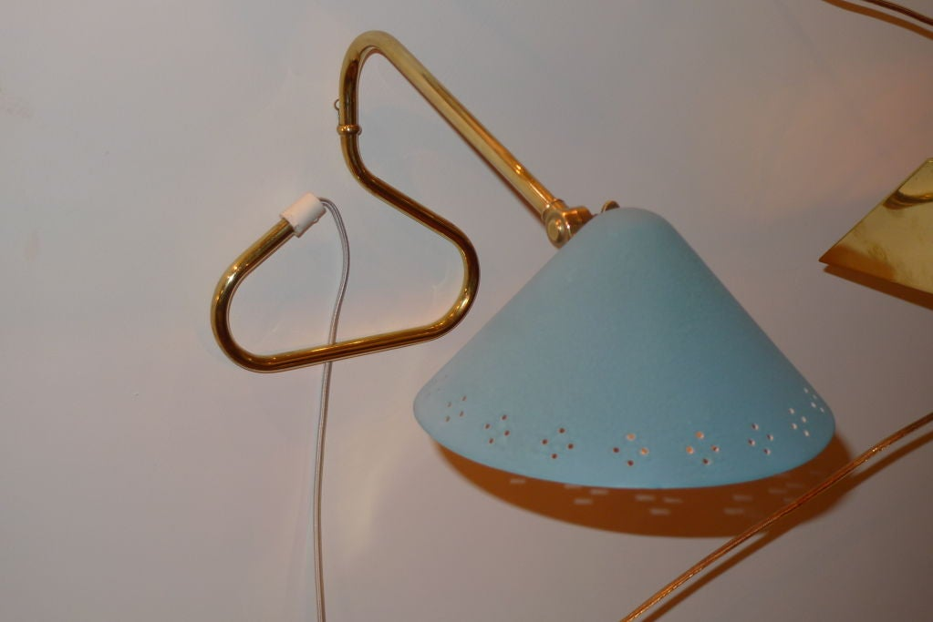 Swedish 1950 s Table or Wall Mounted Lamp For Sale at 1stdibs