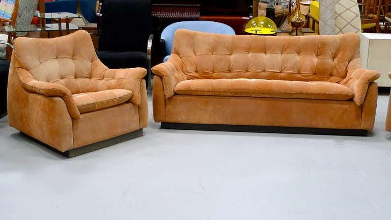 1970 39 S Brazilian Sofa Love Seat Lounge Chair Image 2