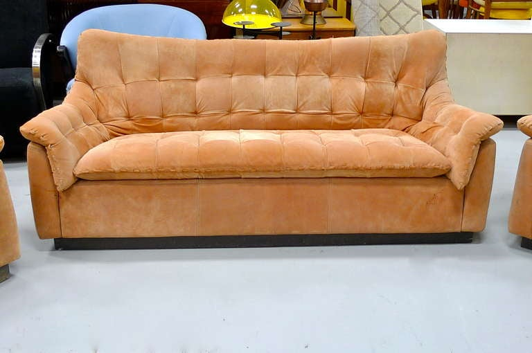 1970 39 S Brazilian Sofa Love Seat And Lounge Chair At 1stdibs