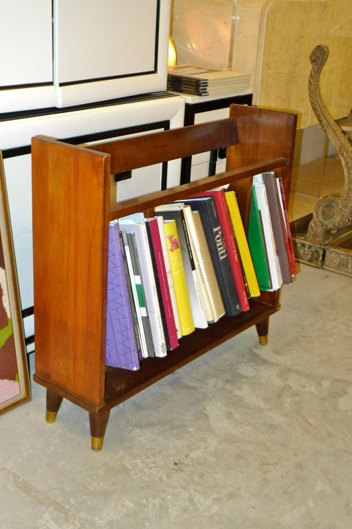 Pair of Small Modernist Book Shelves For Sale 4
