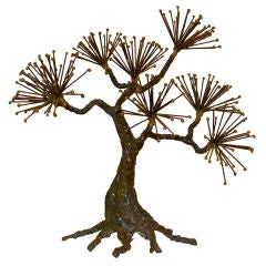 Sculptural Metal Tree