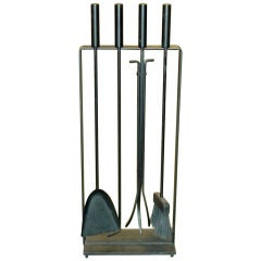 1950's Vintage Modern Fireplace Tools by Pilgrim