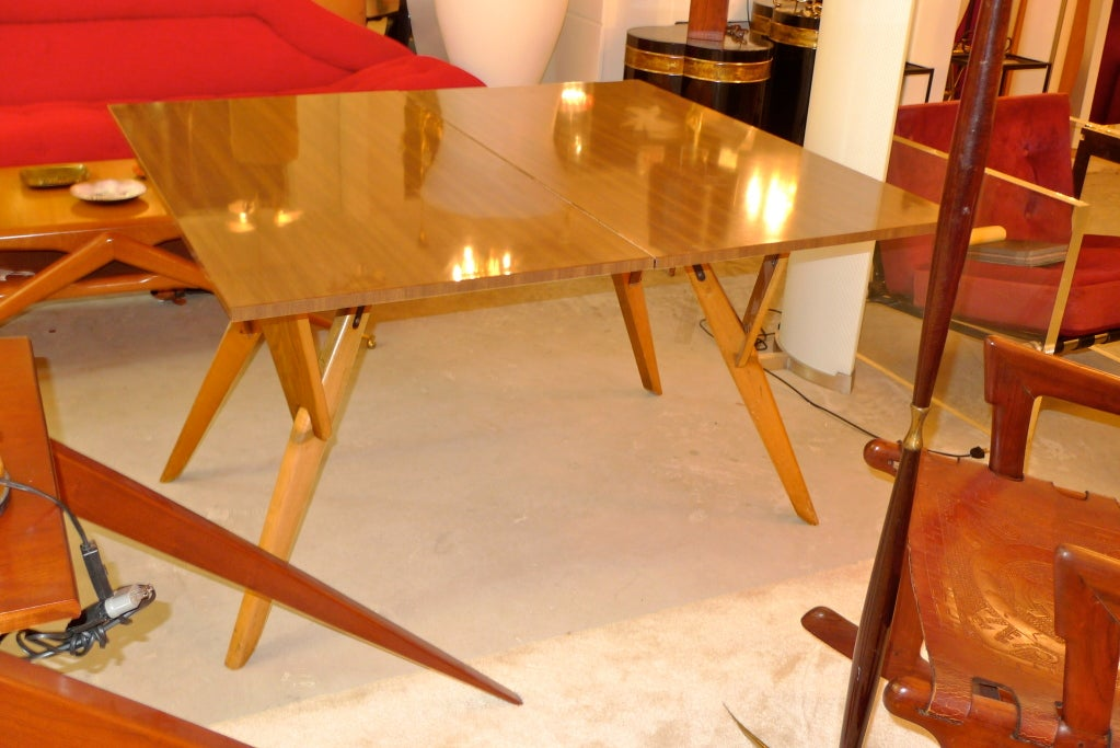 Convertible Cocktail Console Dining Table At 1stdibs