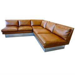 Milo Baughman for Thayer Coggin L Shaped Sectional Sofa