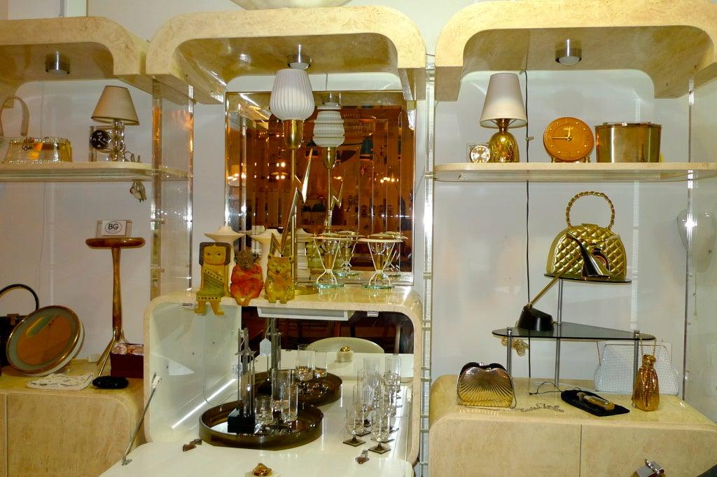 Pair of Petite Italian Boudoir Lamps For Sale 5