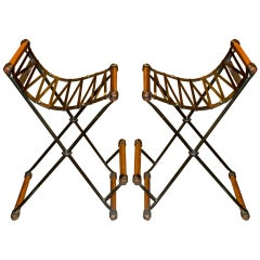 Pair of Cleo Baldon Bar Stools