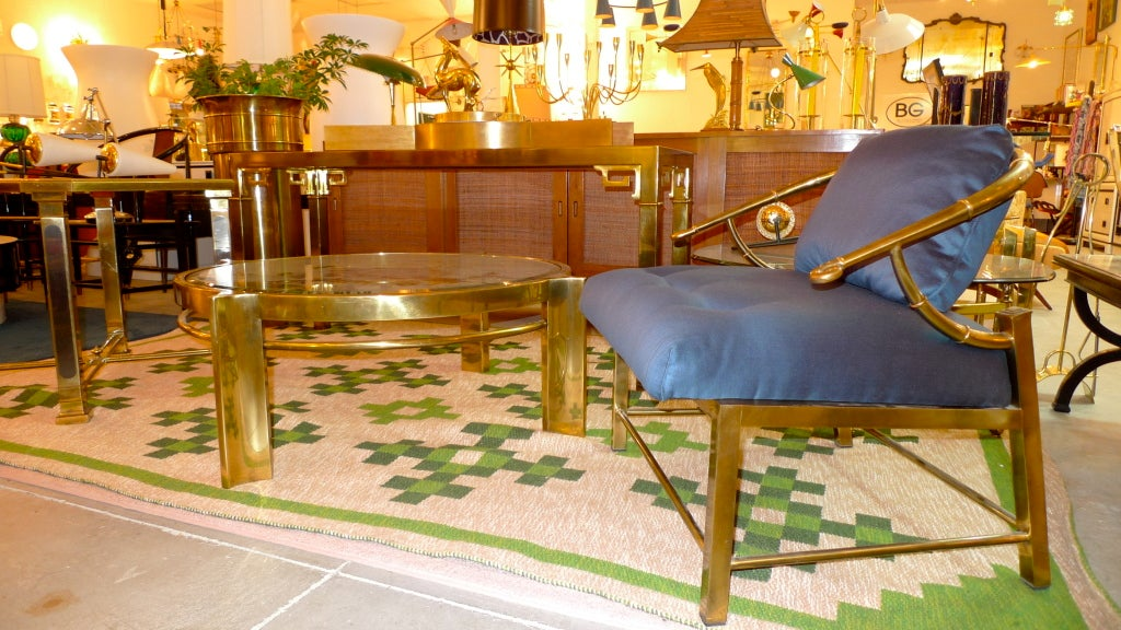 Mastercraft Patinated Brass Pedestal Jardiniere In Good Condition For Sale In Hingham, MA
