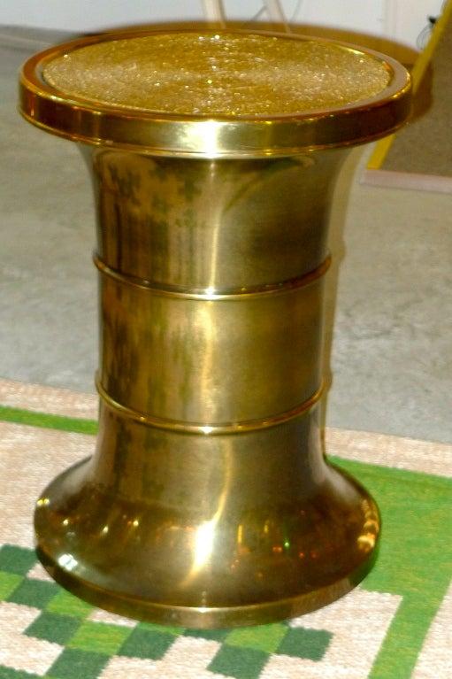 Mastercraft Patinated Brass Pedestal Jardiniere For Sale 3