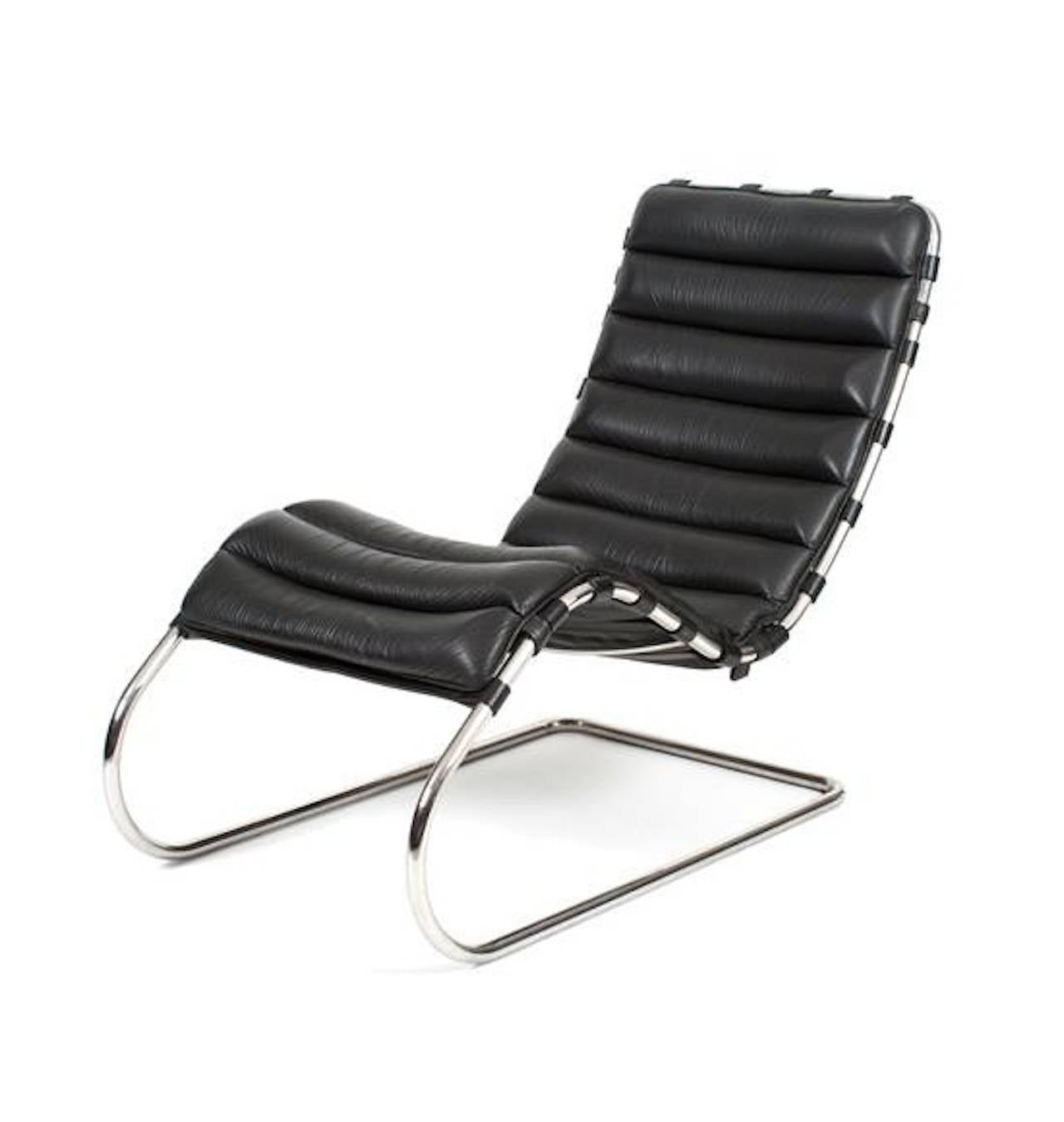 mr chaise by mies van der rohe for knoll studio for sale at 1stdibs. Black Bedroom Furniture Sets. Home Design Ideas
