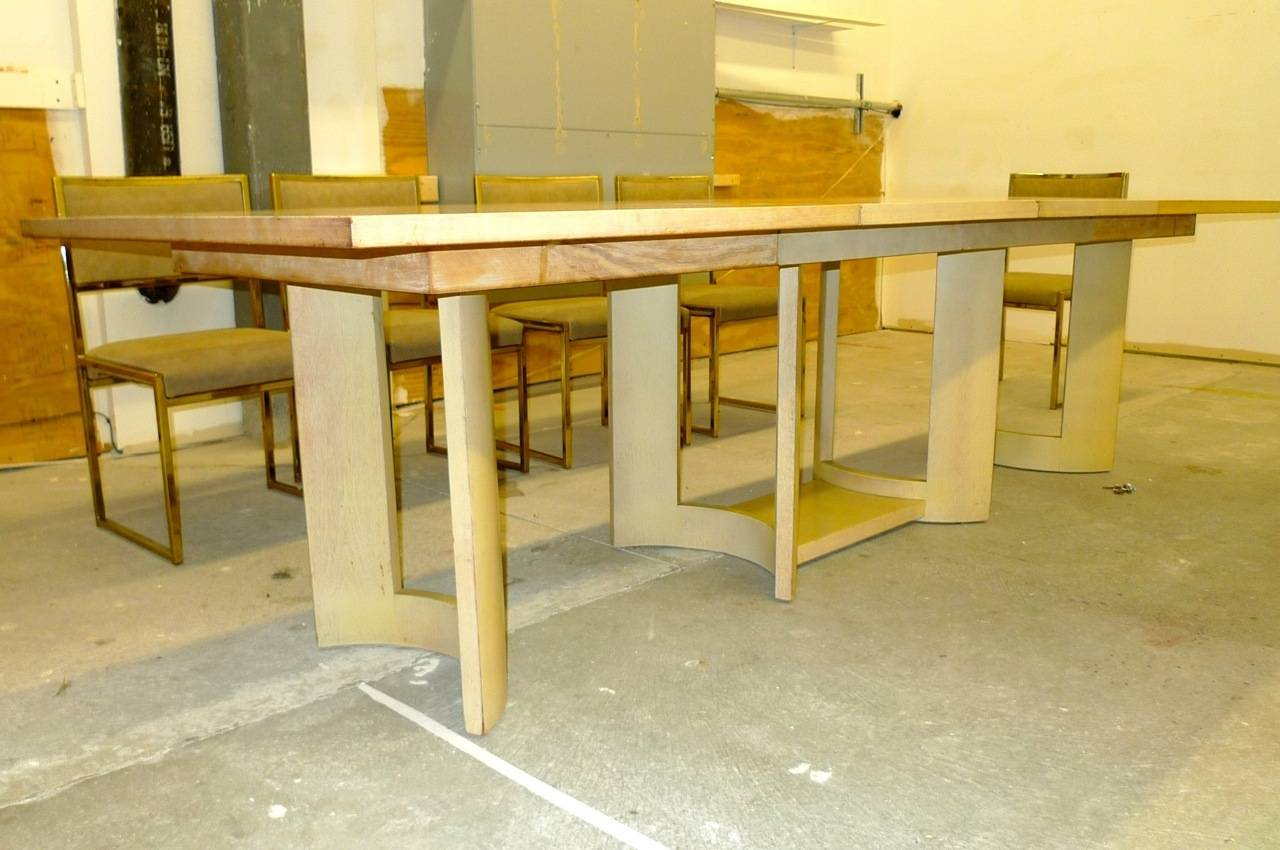 Glamorous American Modern Late 1940 S Dining Table From Grosfeld House Shown Here In Original