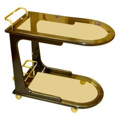 1970's Italian Bar Cart
