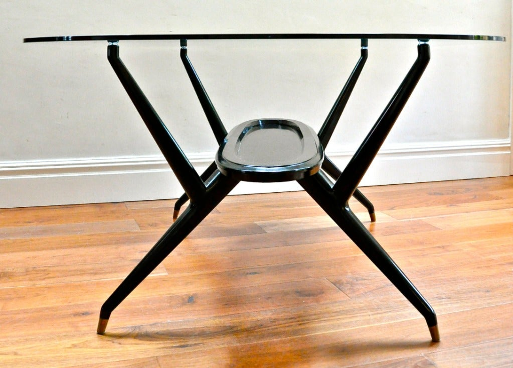 1950's Italian Dining Table In Good Condition For Sale In Hingham, MA