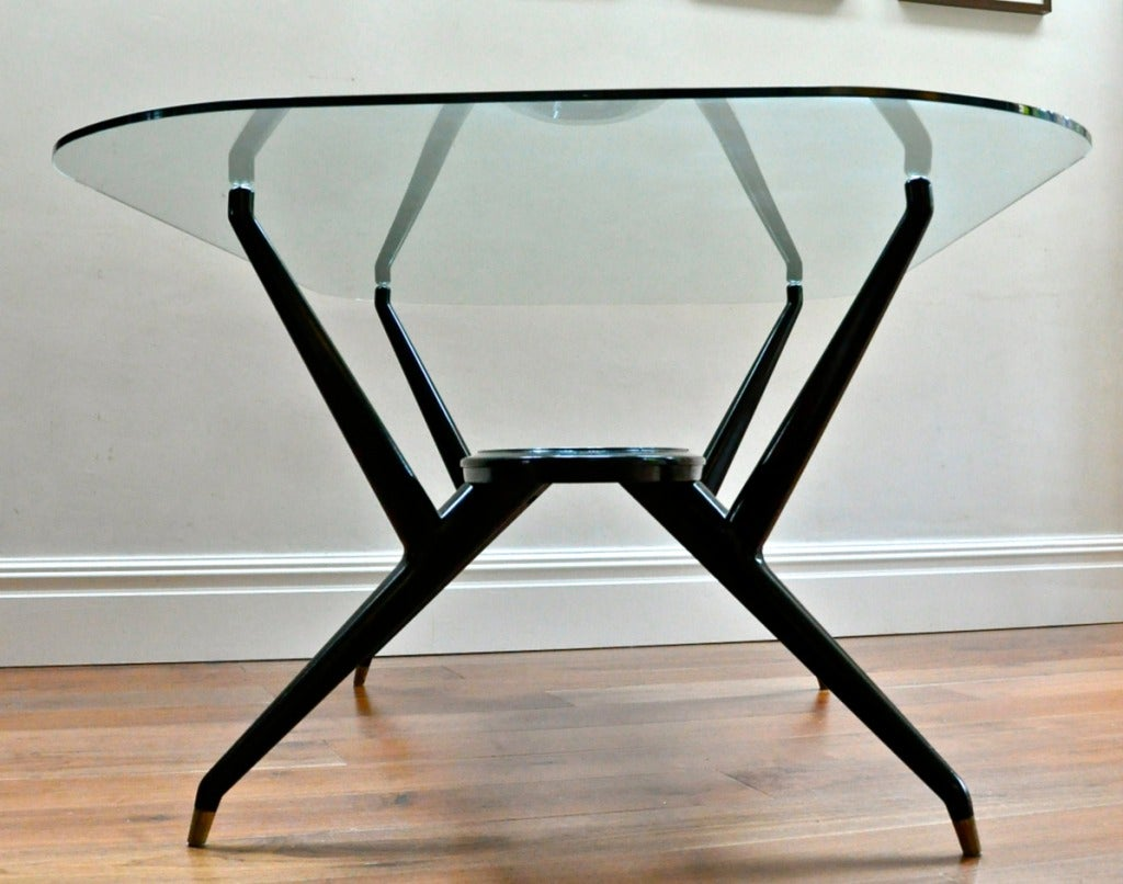 Mid-20th Century 1950's Italian Dining Table For Sale