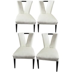 Four Paul Laszlo 'Corset' Chairs
