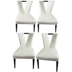 Four Paul Laszlo 'Corset' Chairs