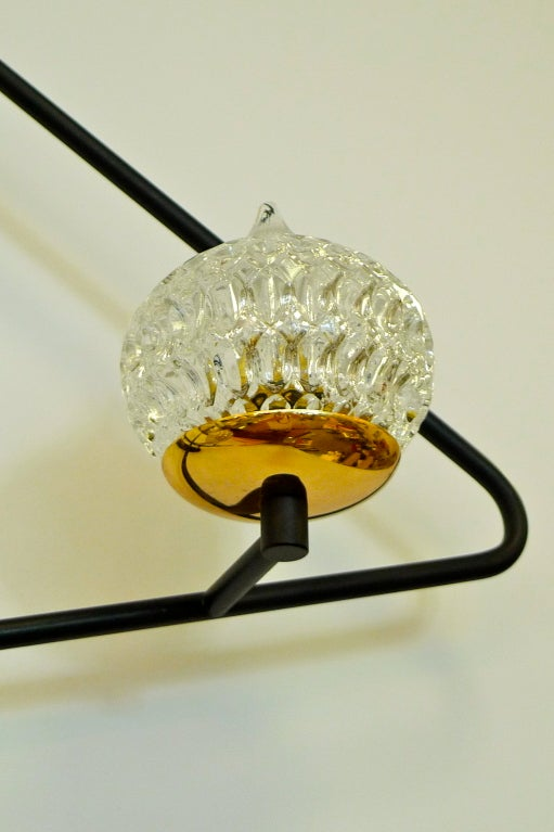 French 1950's Butterfly Clip Wall Light For Sale at 1stdibs