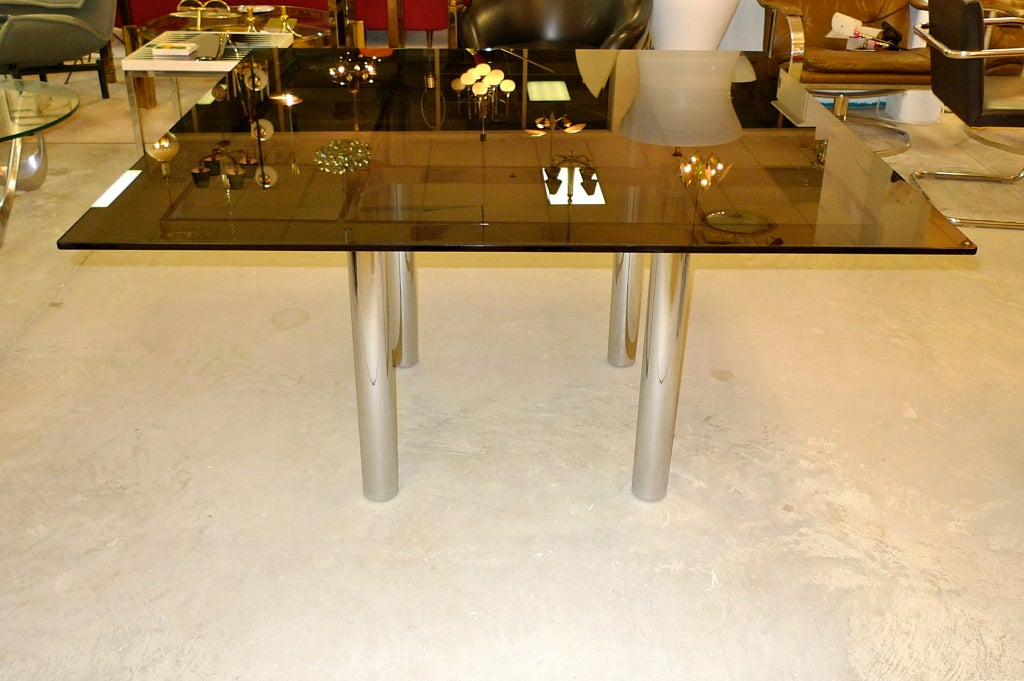 'Andre' Square Dining Table by Tobia Scarpa for Knoll 2