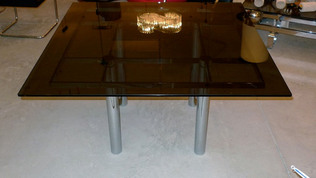 'Andre' Square Dining Table by Tobia Scarpa for Knoll 6