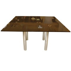 'Andre' Square Dining Table by Tobia Scarpa for Knoll