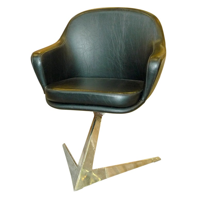 Jacques Adnet For Air France Boardroom Chair 1
