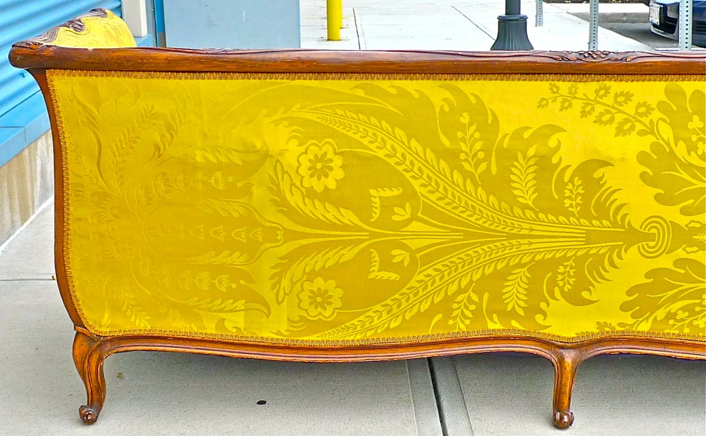 Louis Xv Style Walnut Sofa At 1stdibs