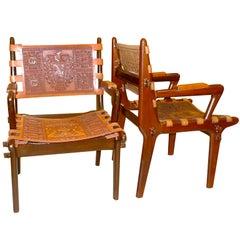 Pair of Ecuadorian Lounge Chairs via Peace Corps