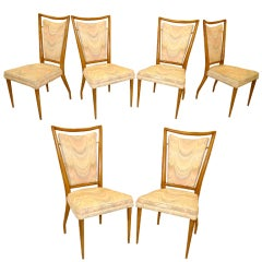 Set of 4 J. Stuart Clingman Dining Chairs for Widdicomb