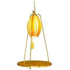 Swag Lamp with Floating Table by Rembrandt