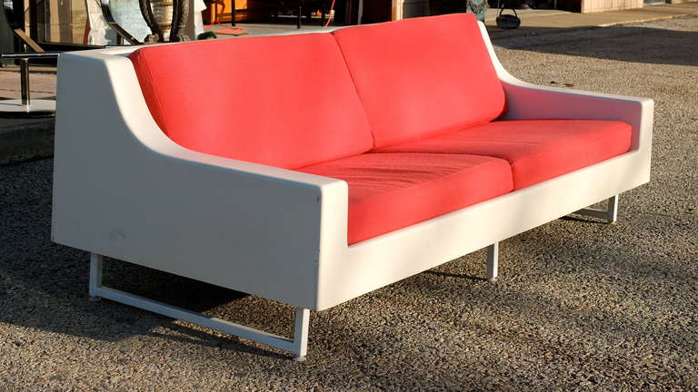 Indoor Outdoor Vintage Fiberglass Sofa For Sale At 1stdibs