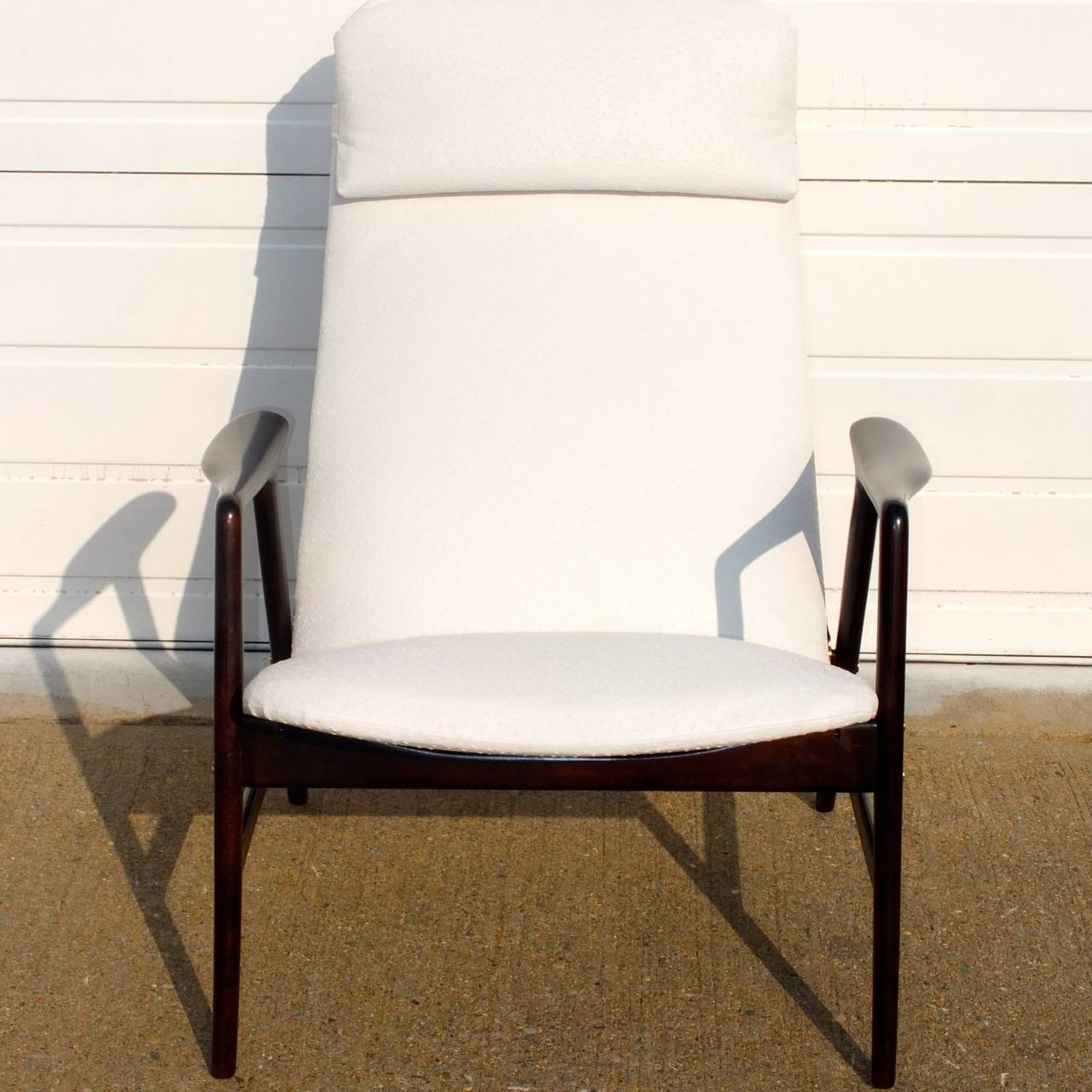 Danish Alf Svensson Reclining Lounge Chair For Sale