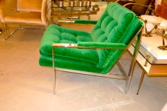 Cy Mann Chrome Lounge Chair image 3