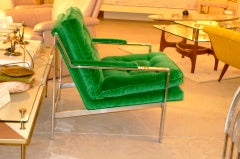 Cy Mann Chrome Lounge Chair image 4