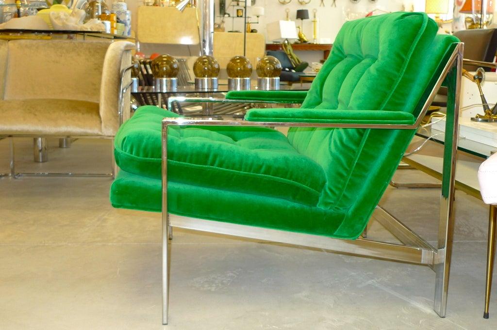 Cy Mann Chrome Lounge Chair 6