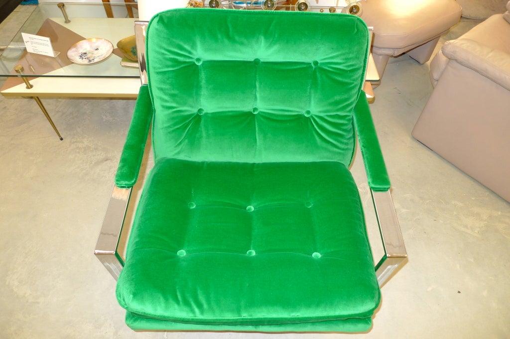 Cy Mann Chrome Lounge Chair 8