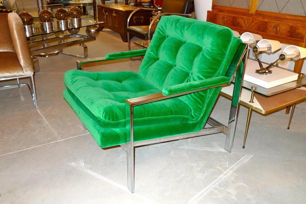 Cy Mann Chrome Lounge Chair 9